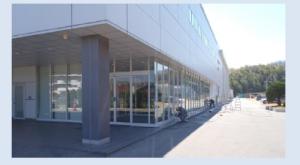 ガラス ヤクルト 名古屋工場